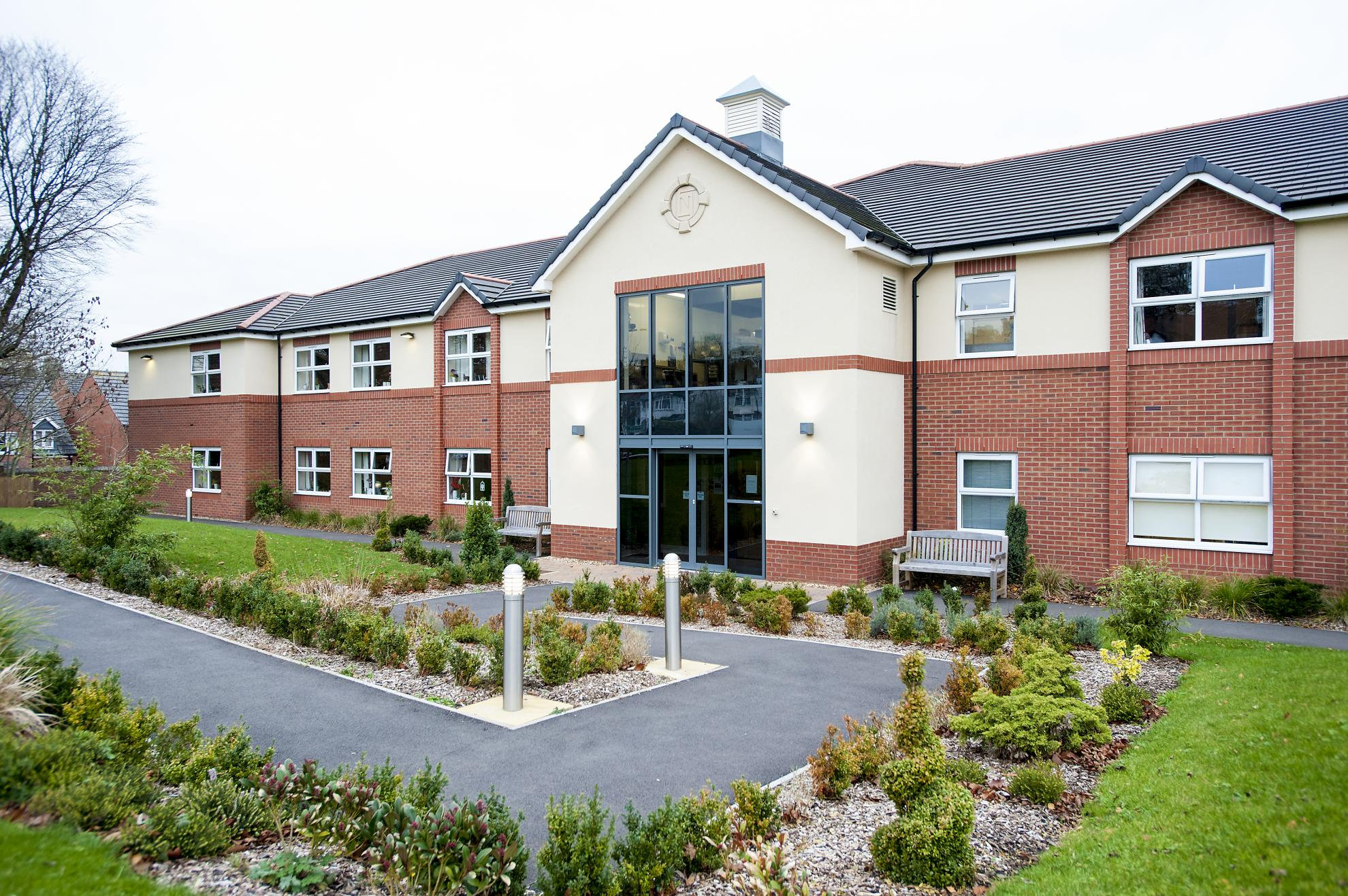 Redhill court residential care home sanctuary care for Residential house pictures