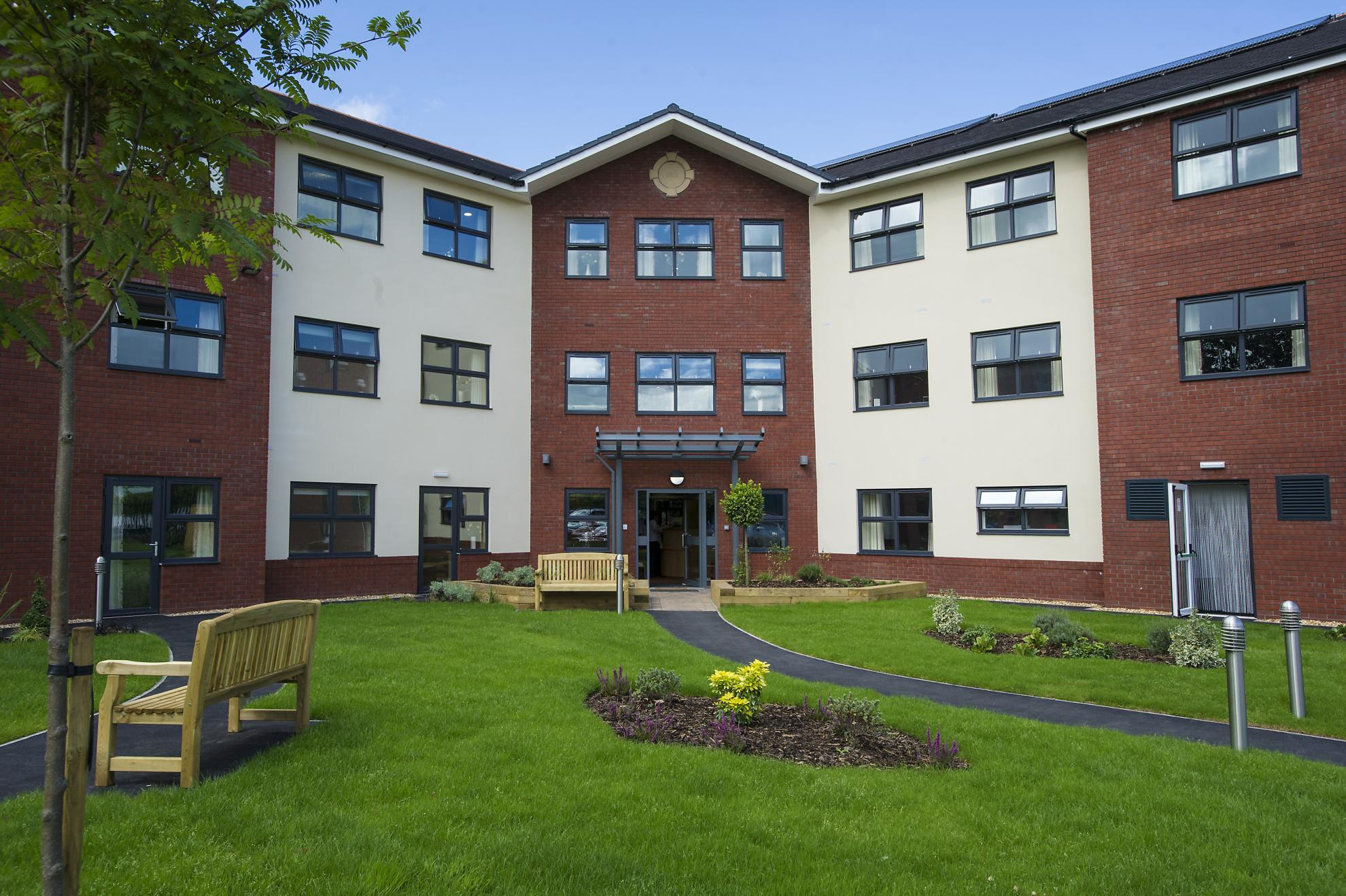 Lake view residential care home sanctuary care for Residential house builders