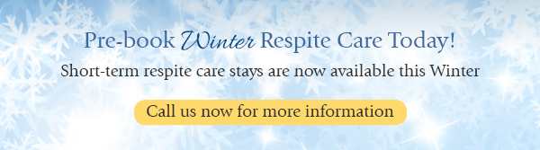 Winter Respite Care Care Home Banner