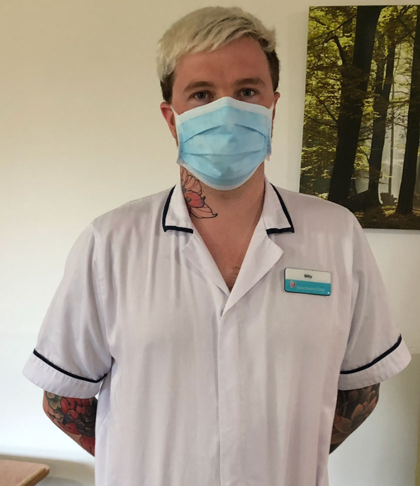 Billy Pattison, Nursing Associate Apprentice