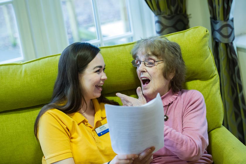 Sanctuary Care show support for Dementia Awareness Week with the launch of their Iffley choir.