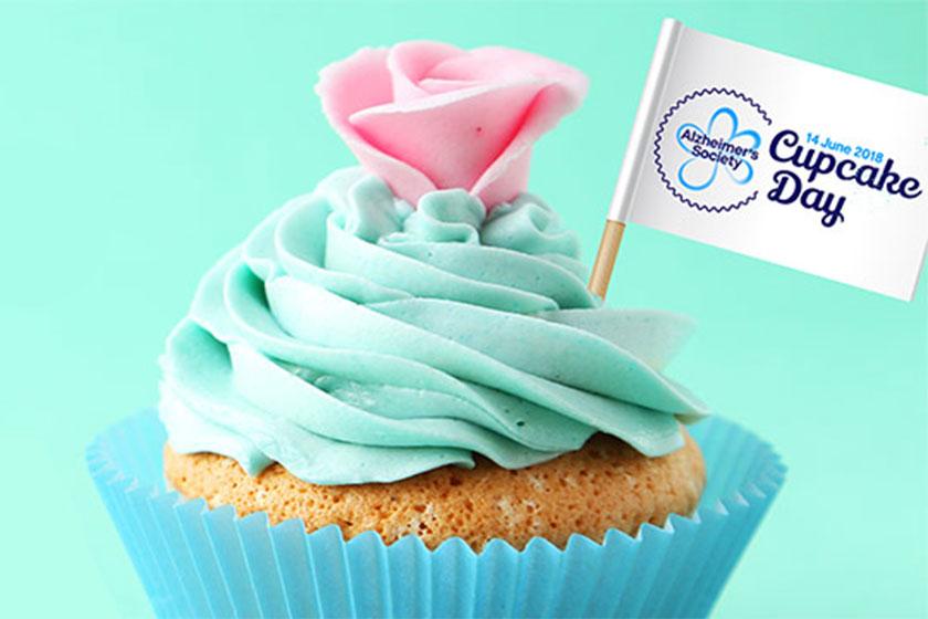 Alzheimer's Society cupcake day teaser