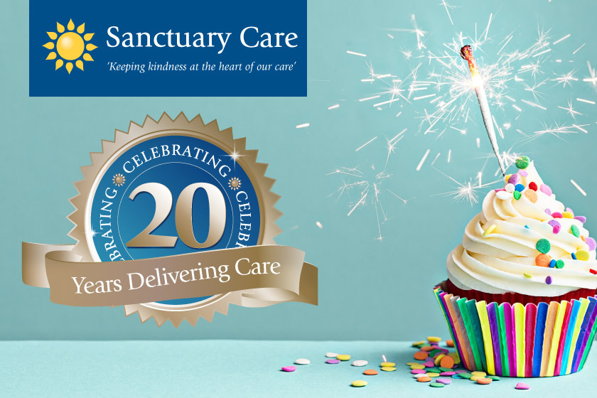 Sanctuary Care have been delivering care for 20 years