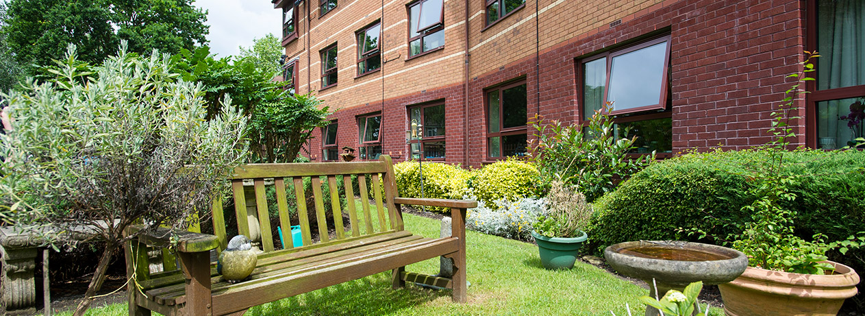 Hastings residential care home malvern sanctuary care for Home garden maintenance