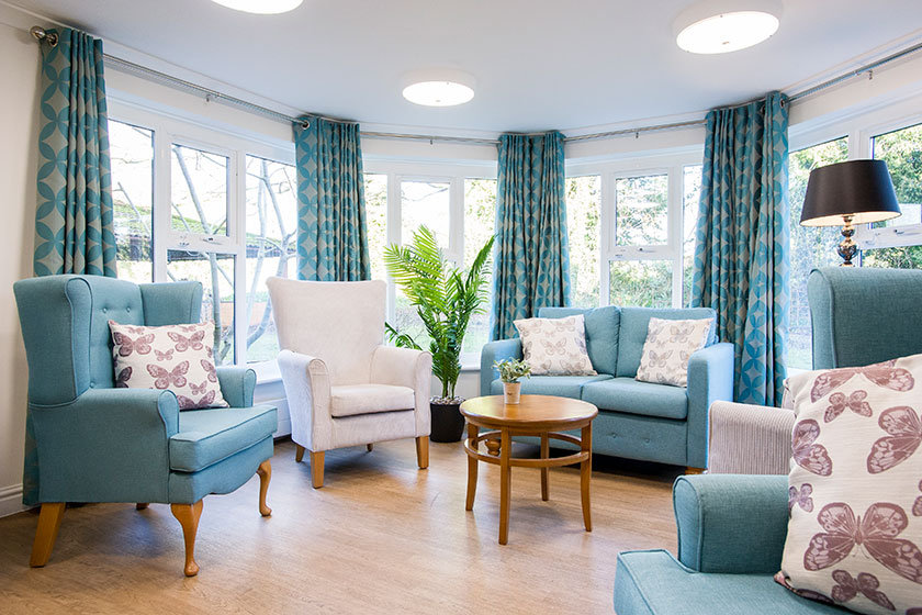 Sanctuary Care Home lounge
