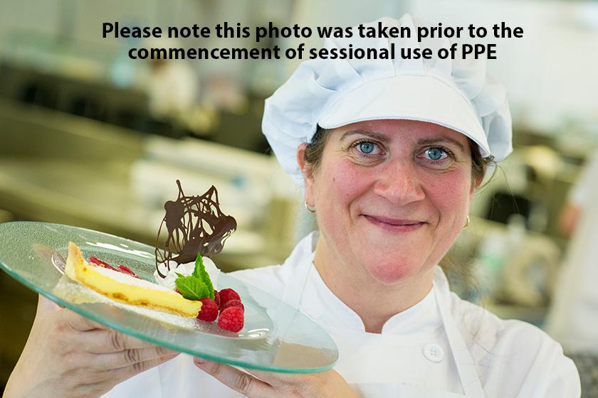 Marcella Field with winning dessert