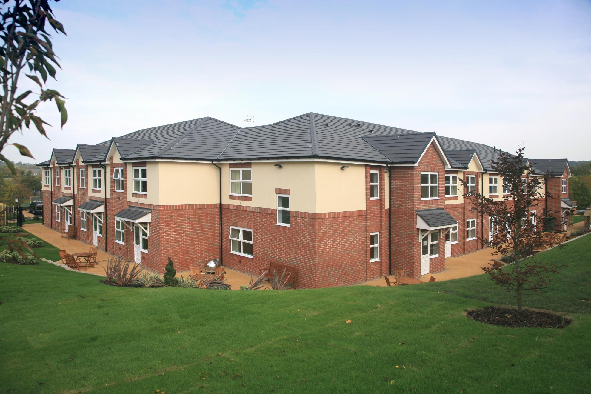 Park view house residential care home shiregreen for Residential house pictures