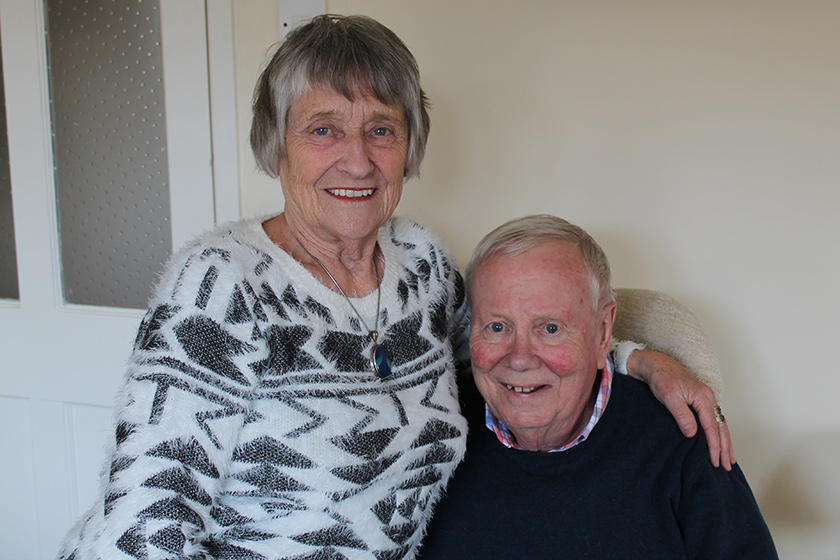 Alice and Brian Coaley talk about their experience of respite care