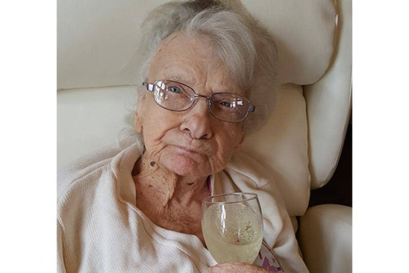 Edna Gertrude May Thomas of The Rosary Nursing Home