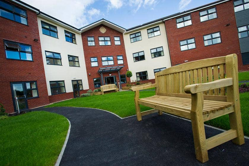 Exterior of Lake View Residential Care Home