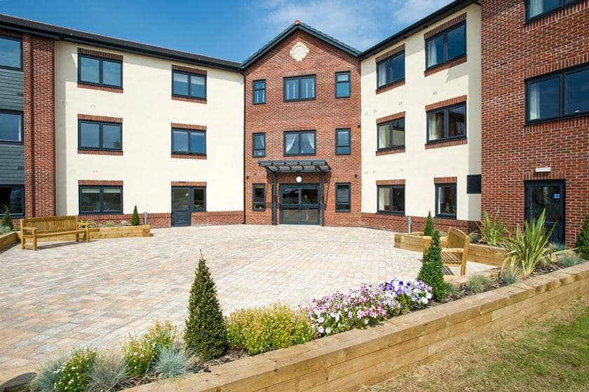 Exterior of Barony Lodge Residential Care Home