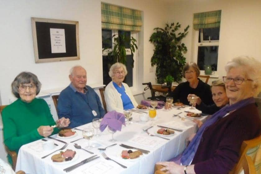 Sanctuary Care home residents celebrate the good CQC rating