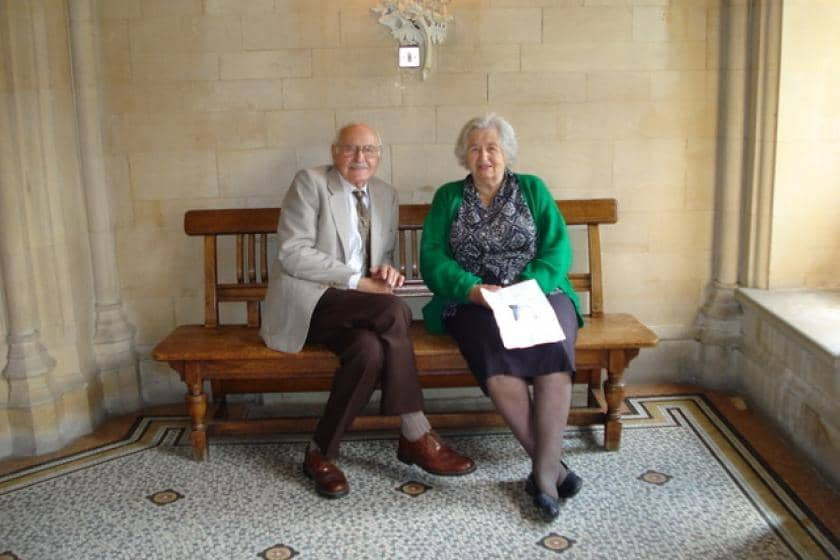 Bob Eaton and Betty Eaton