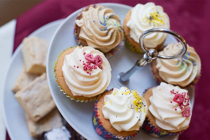 Cakes at Iffley Care Home.