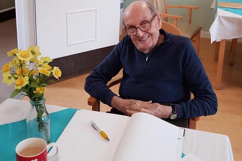 93-year-old Harry Beeton