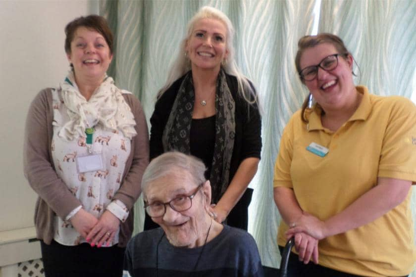 Don Thomson House staff and residents