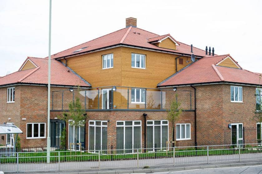 Exterior of Meadow View Residential Care Home in Canterbury