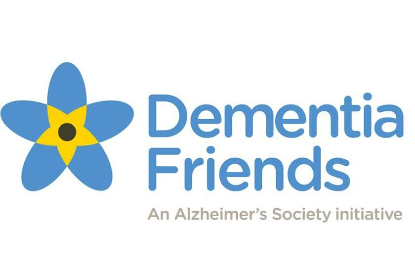 Dementia Friends logo.