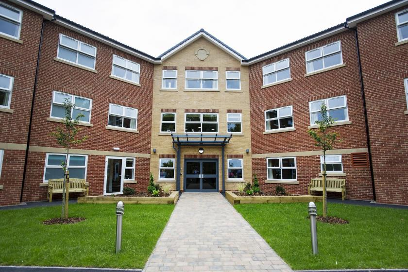 Exterior of Castlecroft Residential Care Home