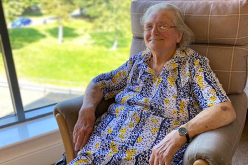 Lake Vie Care Home Resident Dorothy Beekes