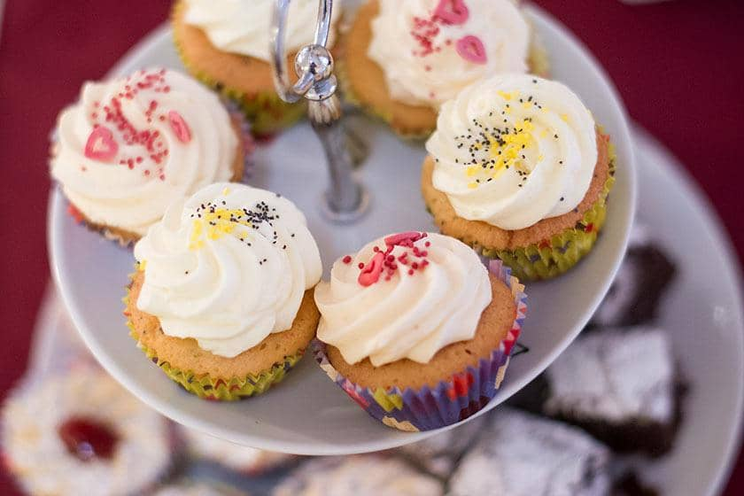 Cupcakes and biscuits