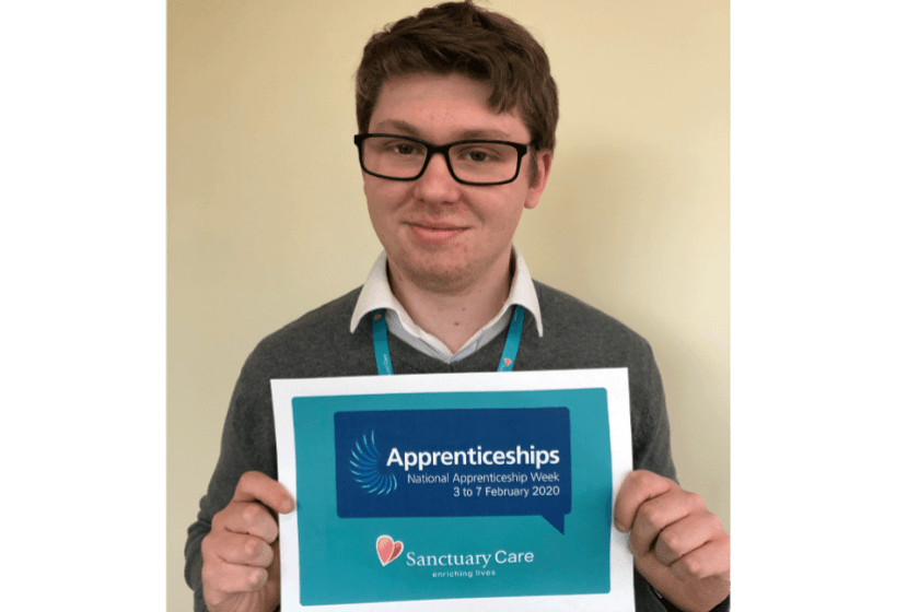 Sanctuary Care Apprentice Sam Jones