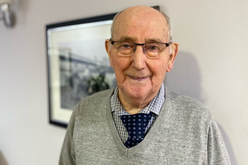 Ken enjoys respite care at Lake View Residential Care Home