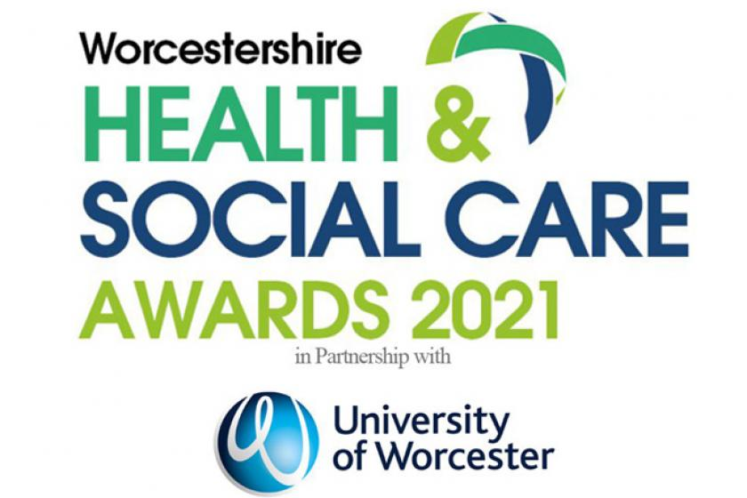 Worcestershire Health and Social Care Awards 2021 Finalist logo