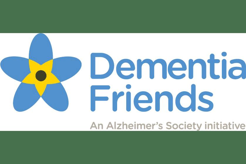 Dementia friends logo.