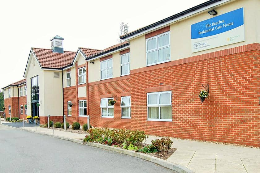 The Beeches Residential Care Home in Northfield, Birmingham