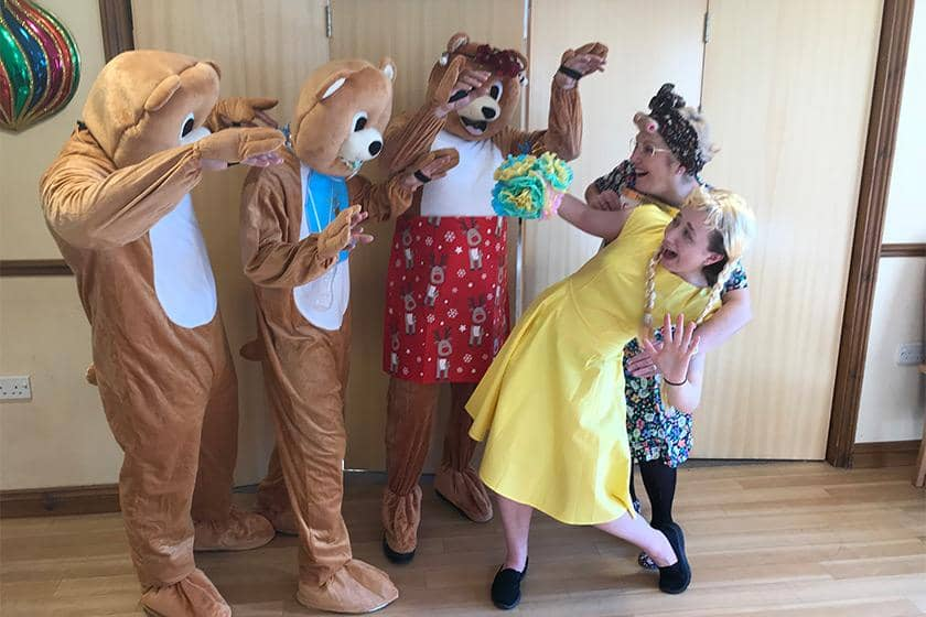 Hatfield care home to host a panto over Christmas.