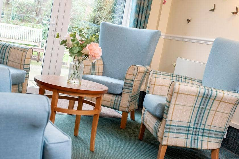 Interior of The Park Residential and Nursing Home