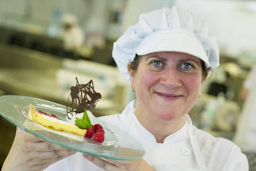 Marcella Field, Yarnton's Chef Manager