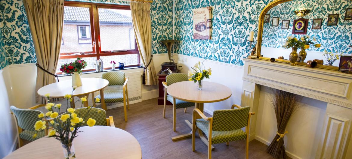 Pub at Ashley House Residential Care Home