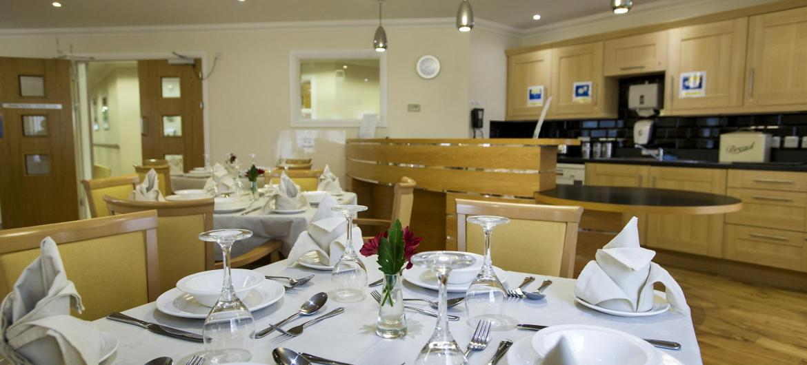 Dining Room at Bartley Green Lodge Residential Care Home