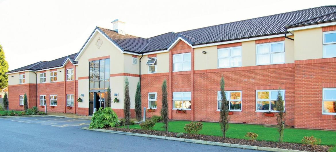 Exterior of Briarscroft Residential Care Home