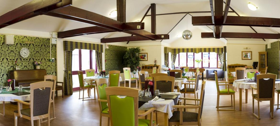 Dining Room at Caton House Residential and Nursing Home