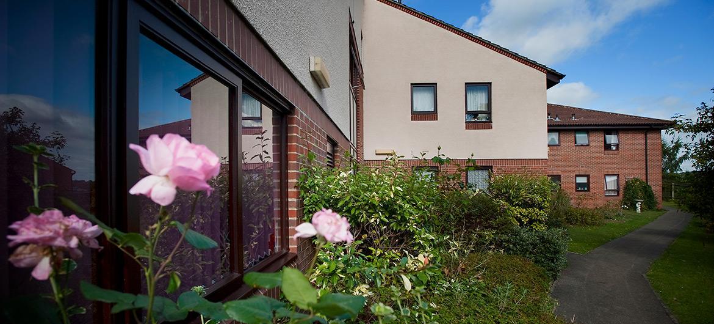 Ashley House garden exterior