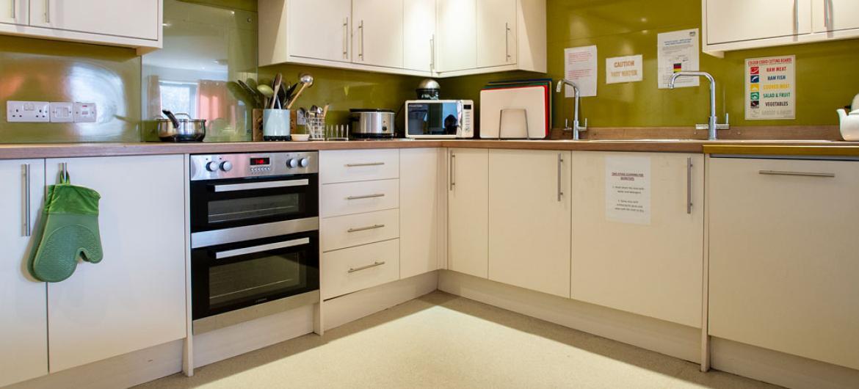 Birch House care home kitchen