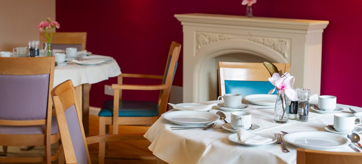 Forefaulds care home dining room
