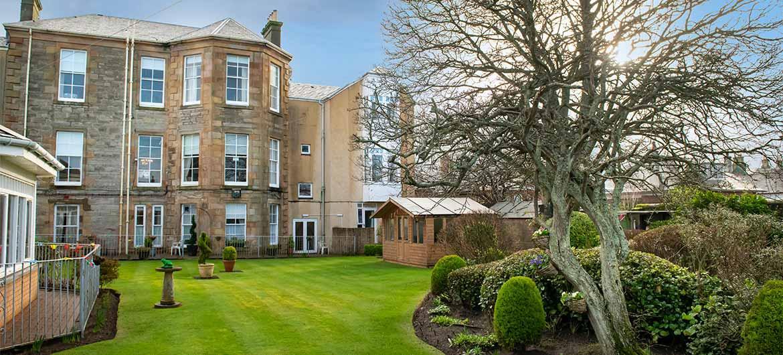 Glenfairn House garden