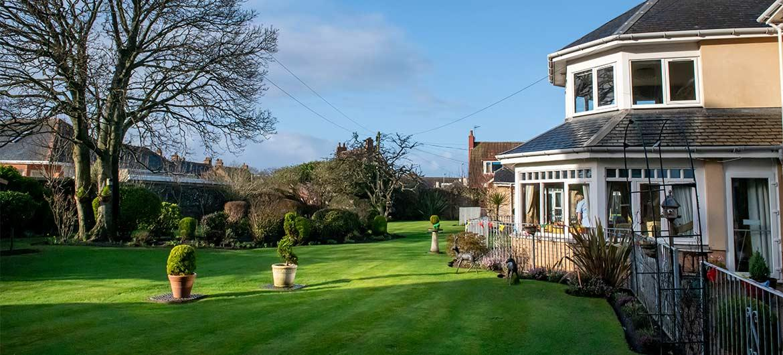 Garden at Glenfairn House