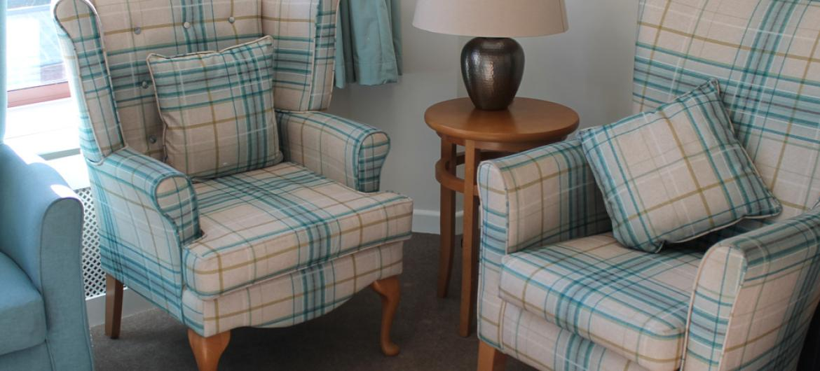 Lounge at Hastings Residential Care Home