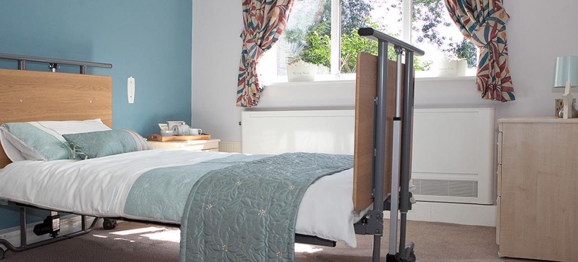 Bedroom at Lake and Orchard Residential and Nursing Home in York