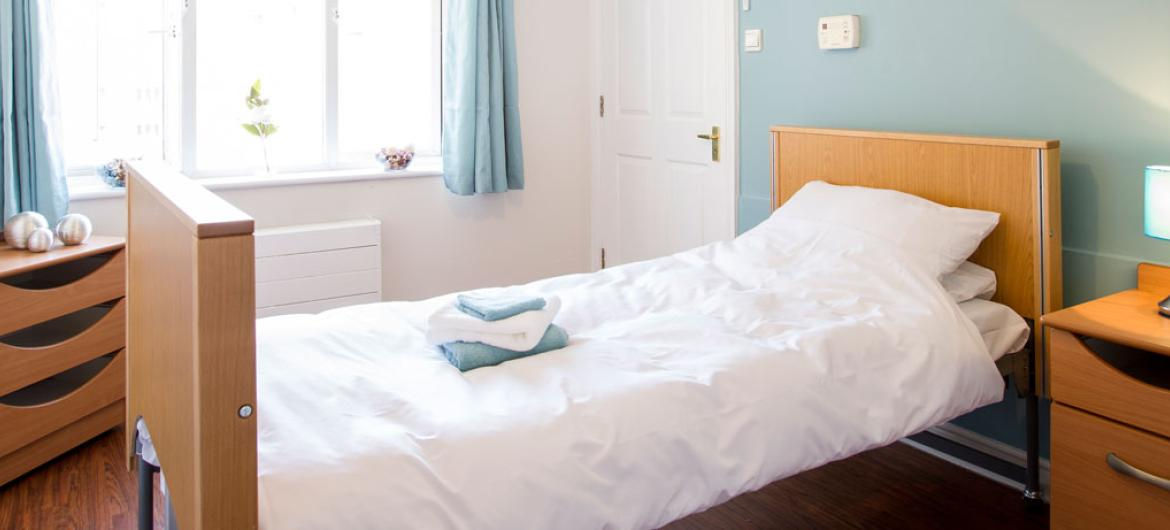 Example of a bedroom at Riverlee Residential and Nursing Home