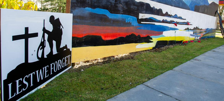 Pitcairn Lodge Nursing Home garden memorial