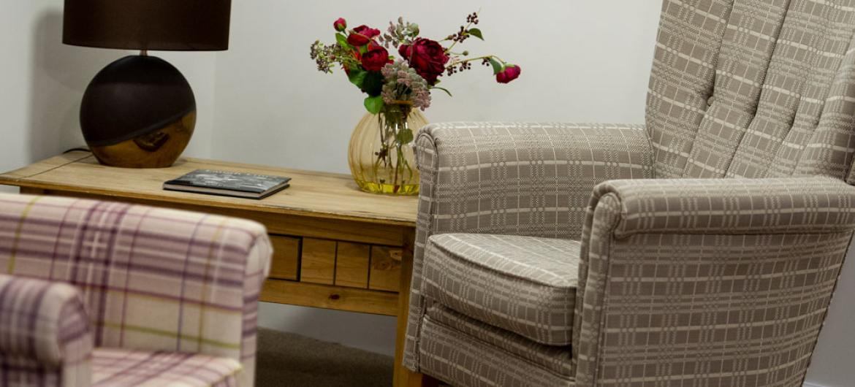 Pitcairn Lodge Nursing Home lounge area