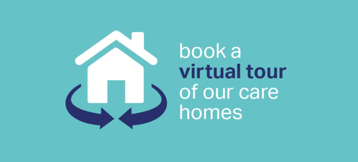 Sanctuary Care book a virtual tour of our care homes banner