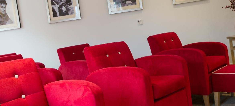 Upton Dene care home cinema room
