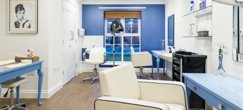 Upton Dene care home salon